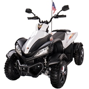 Квадроцикл для детей Joy Automatic Yamaha Raptor, цвет: белый