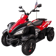 Квадроцикл для детей Joy Automatic Yamaha Raptor, цвет: красный