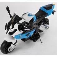 Детский мотоцикл Joy Automatic BMW S1000RR, цвет: синий