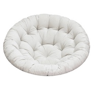 Подушка мягкая для кресла Pretoria/Papasan Chair/Papasan Swivel Rocker/Papyrus/Папасан (светло-серый)
