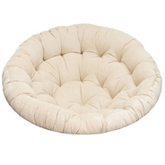 Подушка мягкая для кресла Pretoria/Papasan Chair/Papasan Swivel Rocker/Papyrus/Папасан (бежевый)