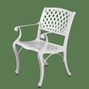 Кресло садовое New Mesh Chair (Нью Меш) белый