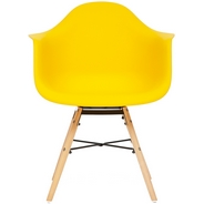 Кресло Secret De Maison CINDY (EAMES) (mod. 919), цвет: yellow with natural legs